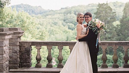 Ellie and Andrew's classic Nashville wedding