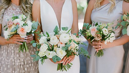 Garden Inspired Neutral Wedding in Charleston