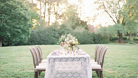 English Garden Style Wedding Ideas