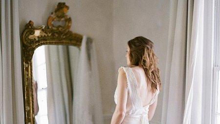 Indoor Bridal Boudoir Inspiration