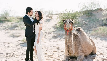 Moody Desert Wedding Ideas