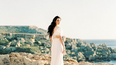 Sun Drenched Engagement Session on Malta Island