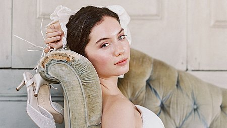 Bridal Shoes for the Fine Art Bride - Bella Belle Shoes - Edelweiss