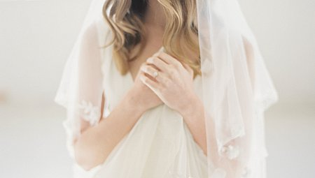 All White Winter Bridal Inspiration