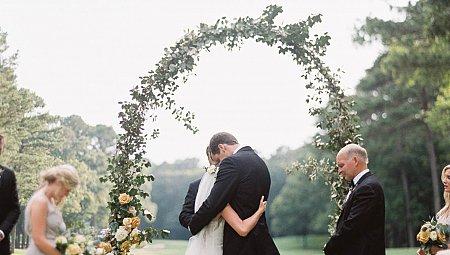 Country Club transformed into Boho Wedding