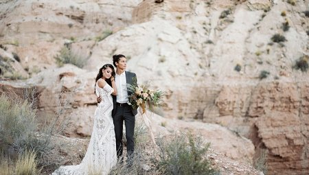 Native Zion Elopement in Northern Utah