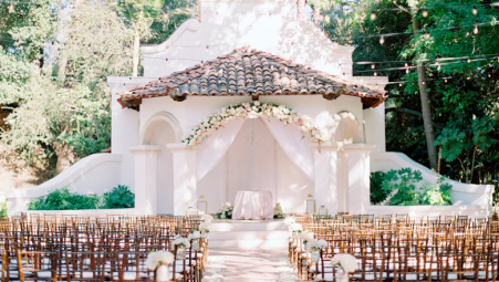 Romantic Blush Wedding at Rancho Las Lomas