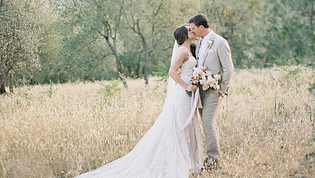 Sophie and Phil's Intimate Tuscan Villa Wedding