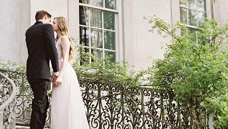 Elegant Mauve and Blush Wedding