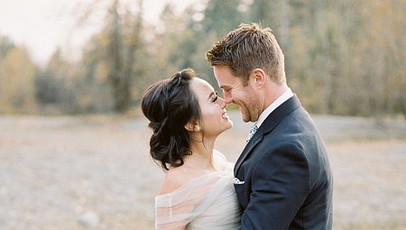 Simple and Ethereal Fall Elopement Inspiration