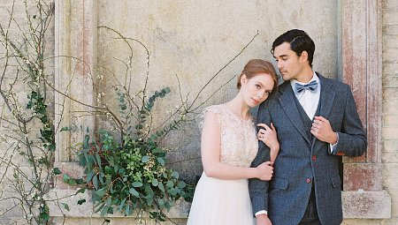 Heirloom English Vintage Wedding Inspiration