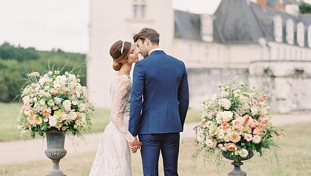 Fairytale French Chateau Wedding with Classic Elements