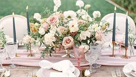 Romantic Garden Wedding Ideas in California