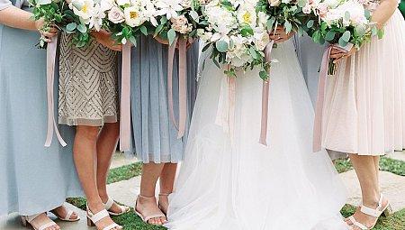 Romantic Outdoor Private Estate Wedding