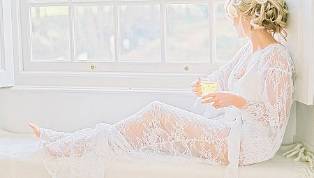 Simple Ethereal Boudoir Session
