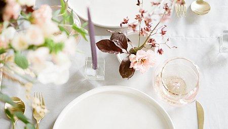 Muted Fall Tones and Minimal Wedding Ideas
