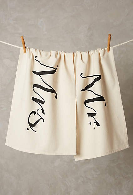 Mr & Mrs Dishtowels