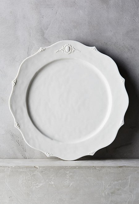 Wedding gift registry for Calligrapher canape plate