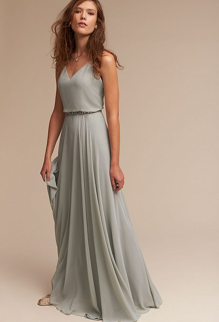 Inesse Dress in Morning Mist