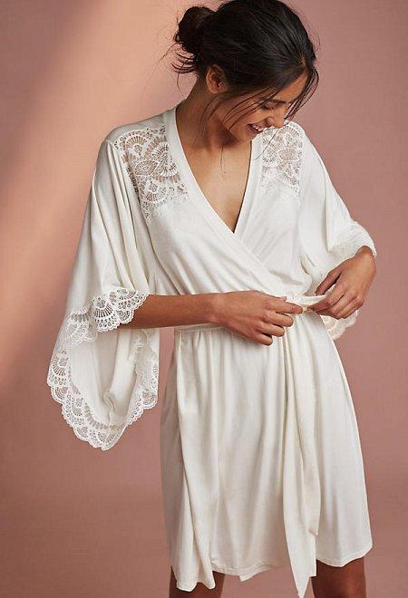 Marry Me Kimono Robe