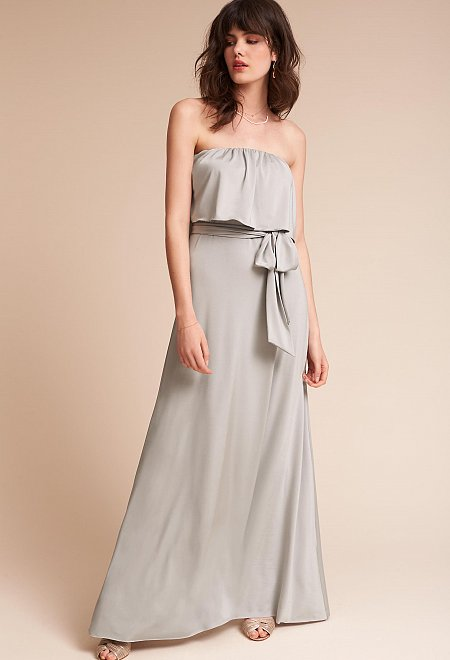 Convertible Dress in Grey