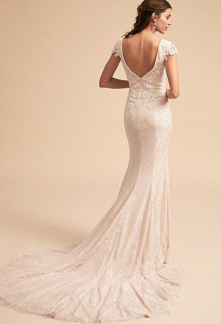 Tierney Cap Sleeve Gown