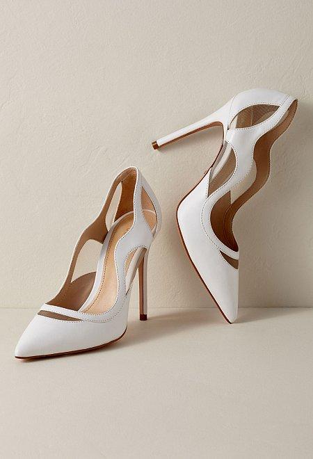 Cutout Poliany Bridal Heels
