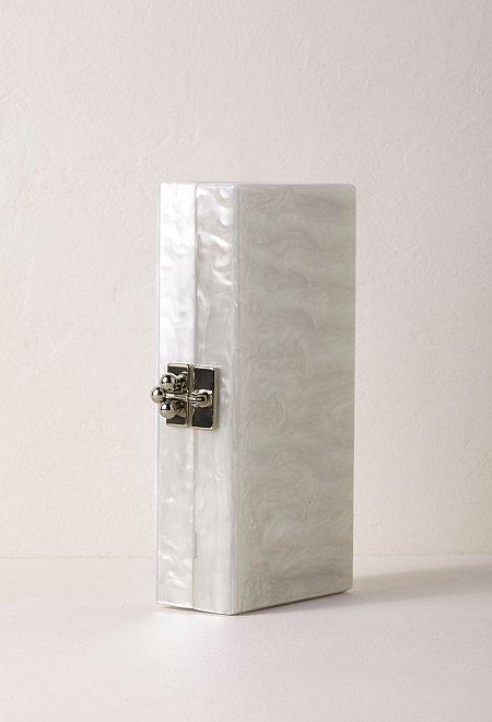 Inman Acrylic Bridal Clutch