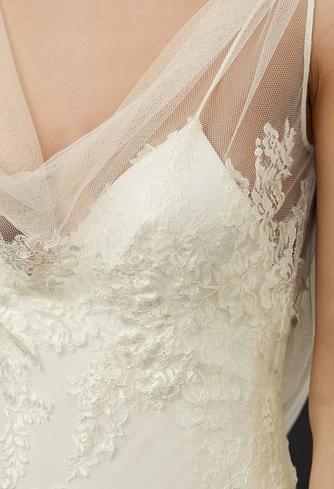 Sylvie Cowl Neck Slip Gown