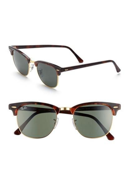 Classic Clubmaster Sunglasses