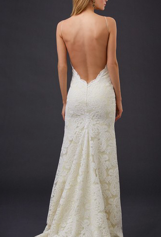 Low Back Poipu Gown