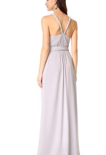 Parker Twist Strap Wrap Dress