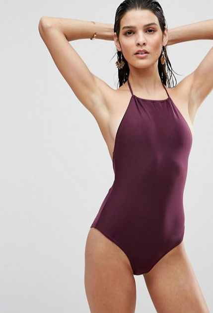ASOS HALTER SWIMSUIT
