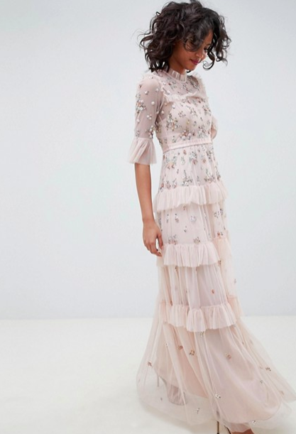 Needle & Thread Rose Dress