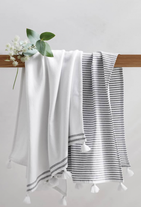 The White Company Hammam Hand Towels - set of 2