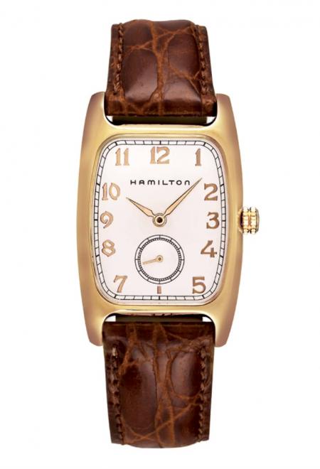 American Classic Boulton Leather Strap Watch