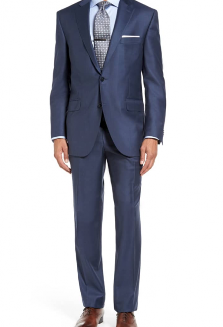 Classic Fit Wool Suit