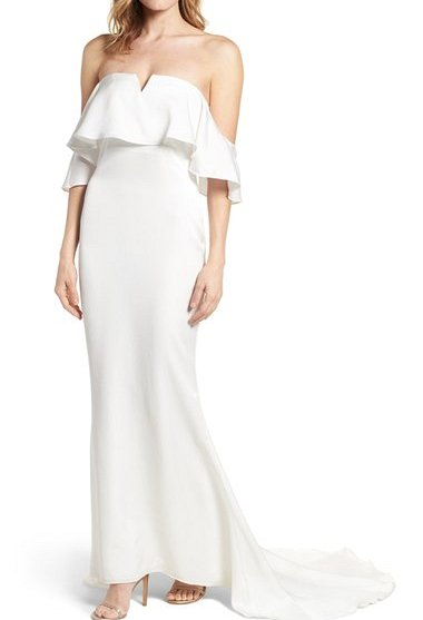 Santa Barbara Strapless Gown