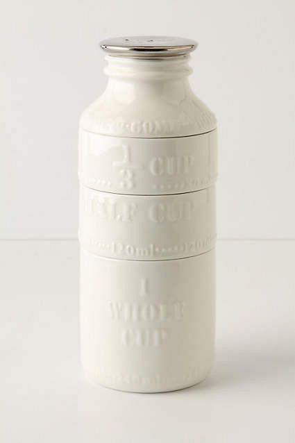 Milk Bottle Measuring Cups