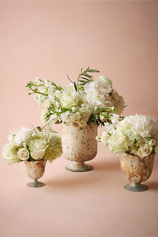 Marble Footed Vase