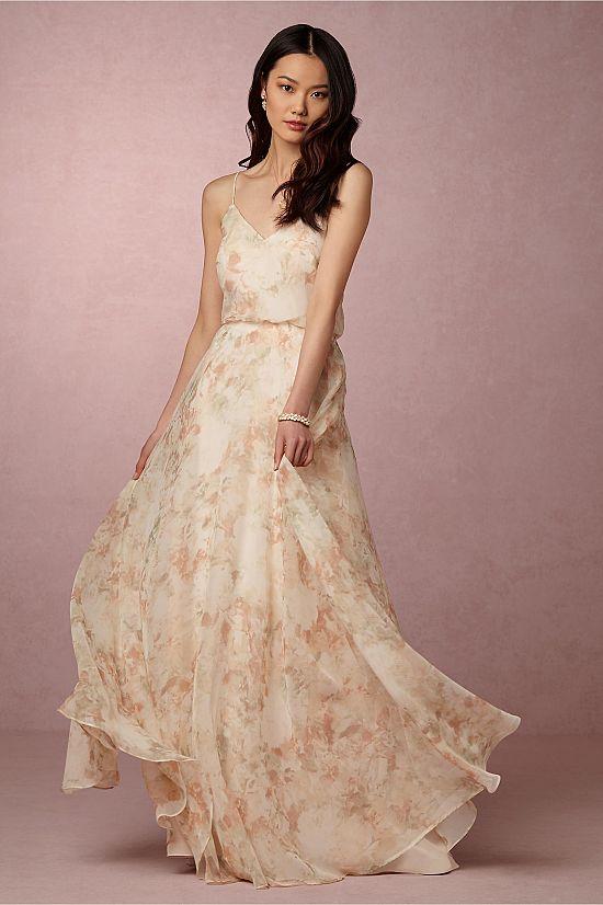 Inesse Dress in Blush Multi