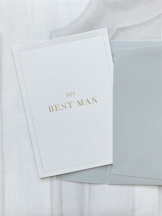 Bridesmaid & Groomsmen Card