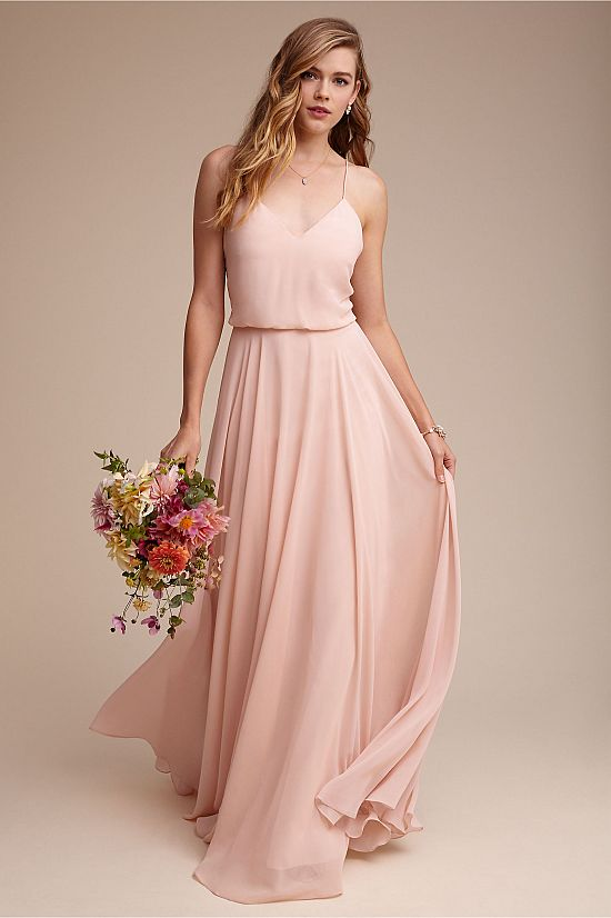 a1740a119962 A line flowy bridesmaid dress by BHLDN | Wedding Sparrow