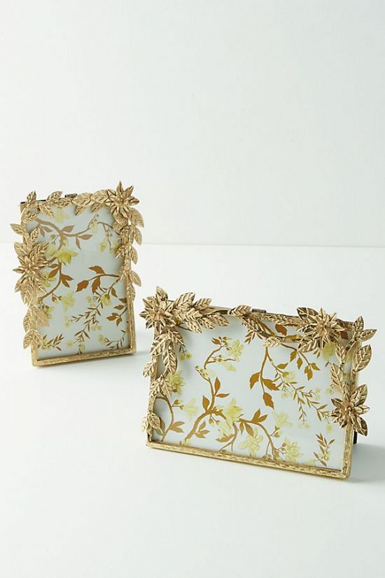 Gold Blossom Frame