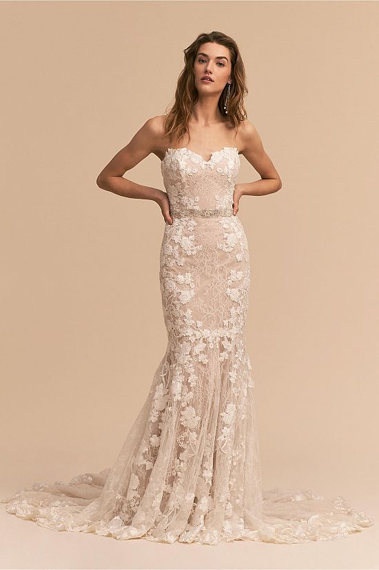 Lombardy Strapless Gown