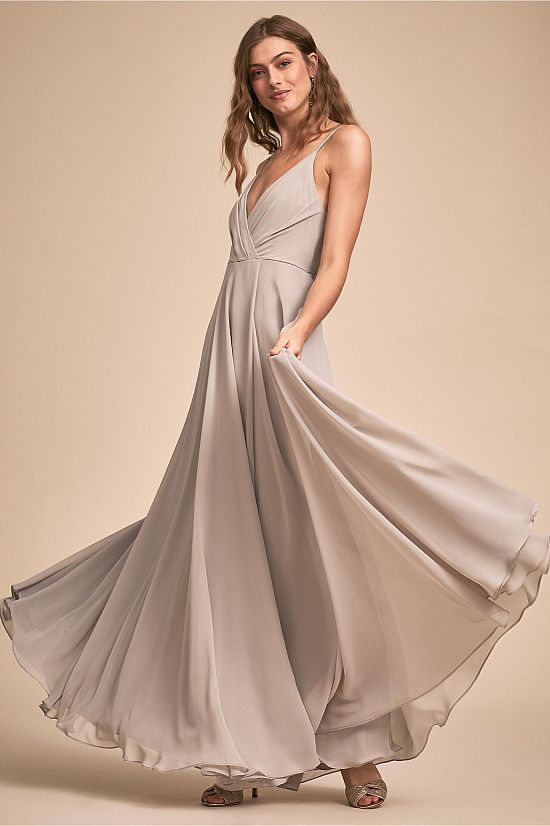 Eva Draped Bridesmaid Dress