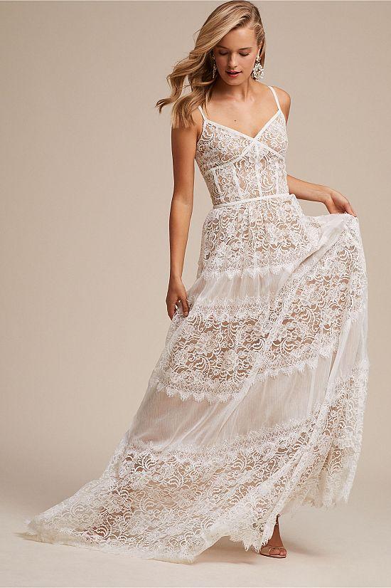 Boho Lace Uma Gown