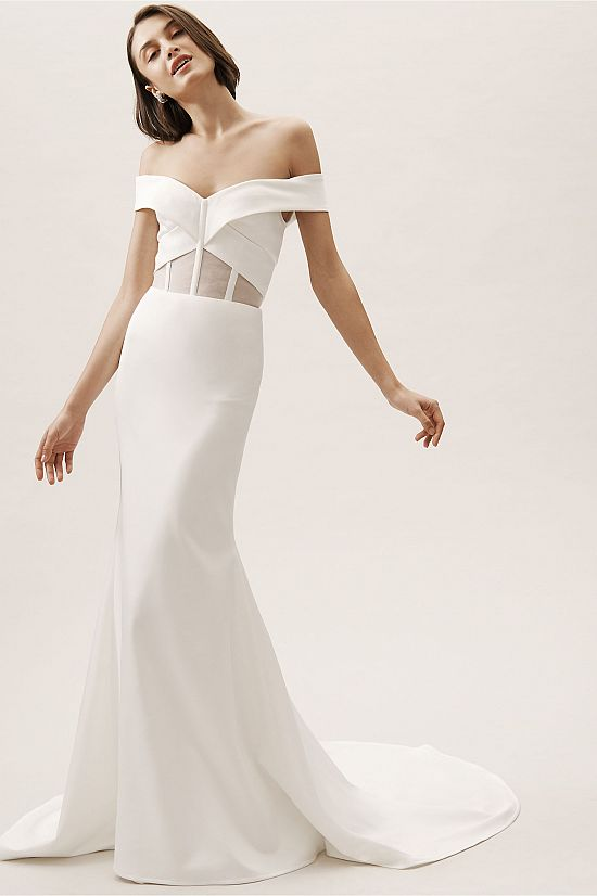 Hamilton Gown in Ivory