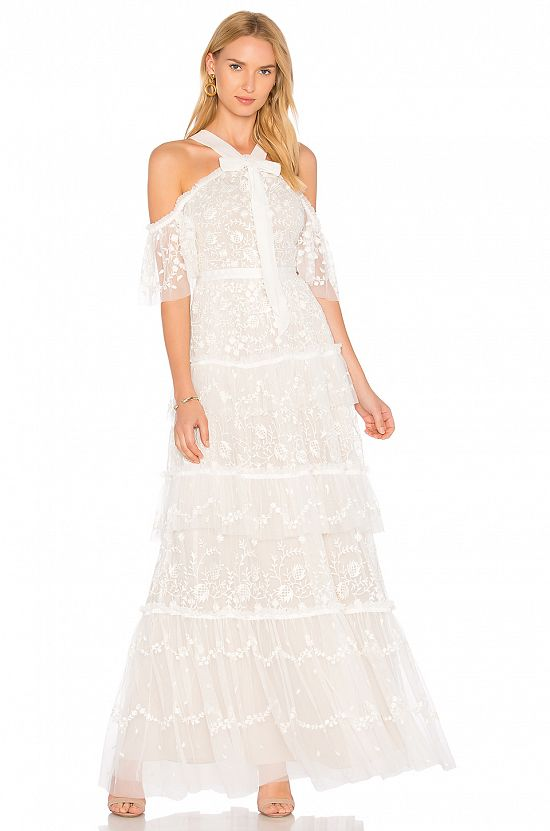 Primrose Gown in Ivory