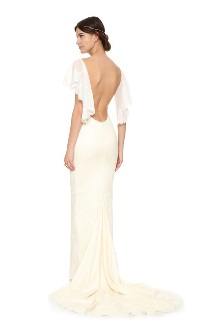 Low Back Vienna Gown
